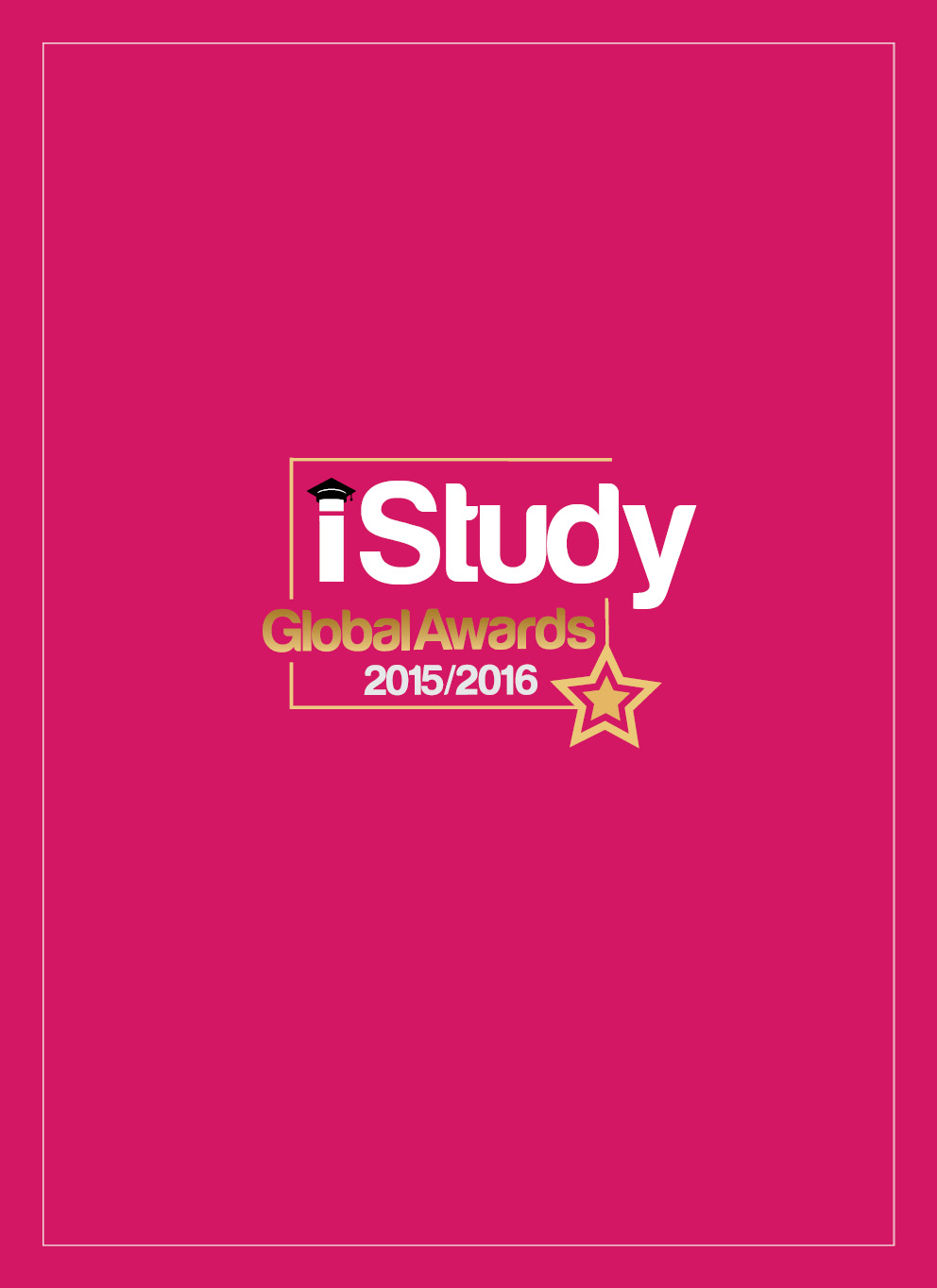iStudy Global Awards 2015/2016 - Cover Image