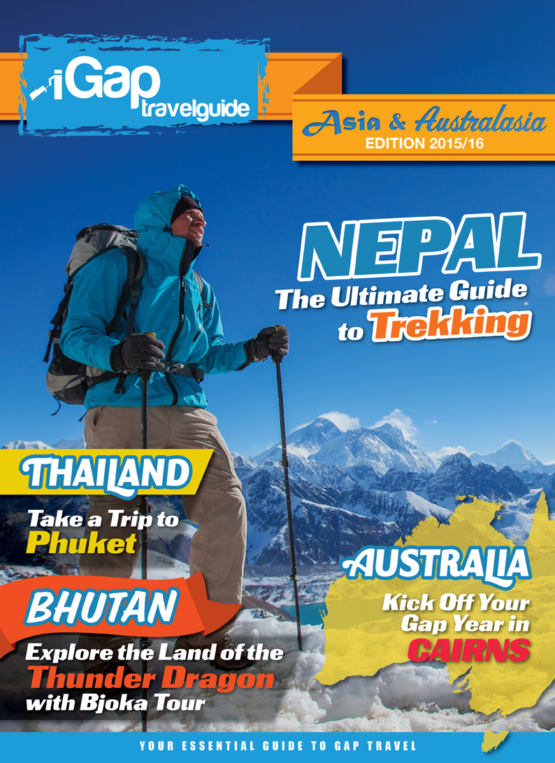 The iGap Travel Guide: Asia & Australasia 2015/2016 - Cover Image