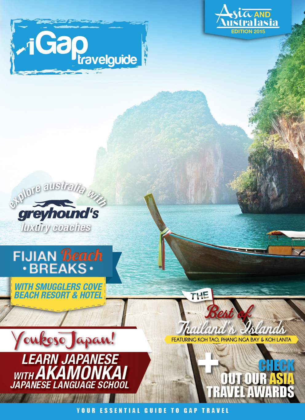 The iGap Travel Guide: Asia & Australasia 2015 - Cover Image