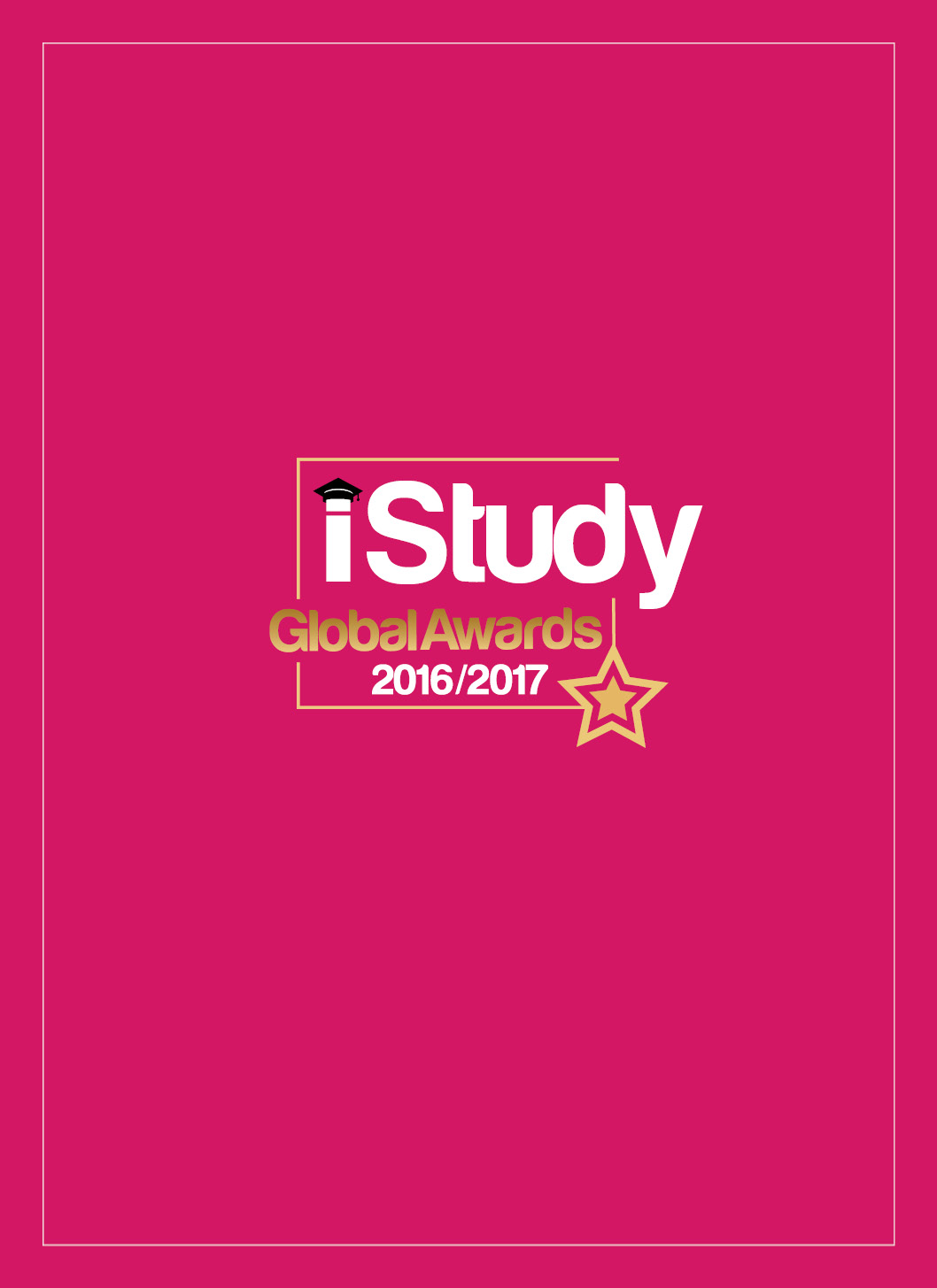 iStudy Global Awards 2016/2017 - Cover Image